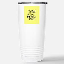 shutthefrontdoor2_butto Travel Mug