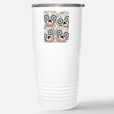 Day of the Dead Flip Fl Travel Mug