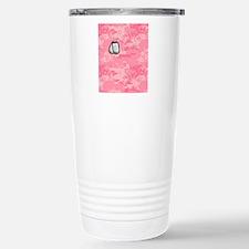 Camo_flip_flops_PinkTag Stainless Steel Travel Mug