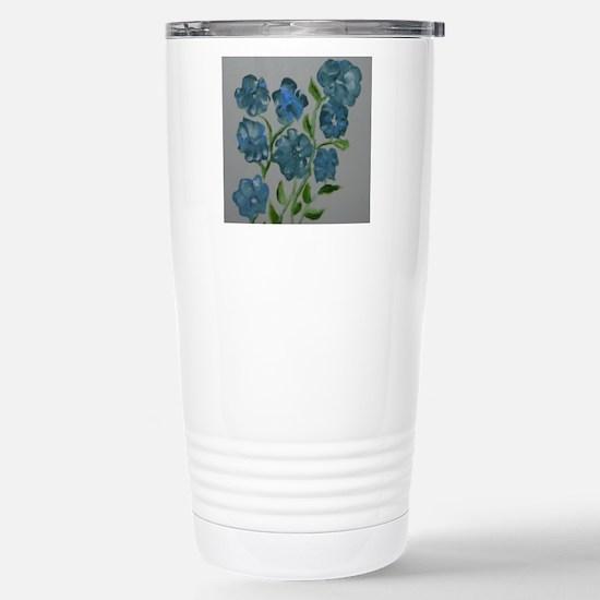 Baby Blues Stainless Steel Travel Mug
