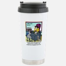 7355_insurance_cartoon Stainless Steel Travel Mug