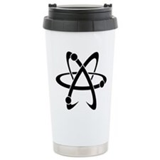 Atheist A black Travel Mug