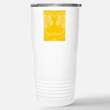 Yellow-FlipFlop Stainless Steel Travel Mug