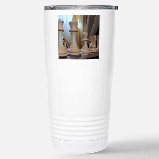 Chess Stainless Steel Travel Mug