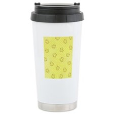 flipflop_yellow Travel Mug
