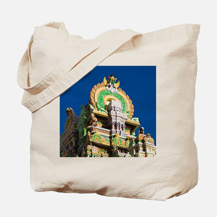 Detail of St-Denis Hindu Temples, detail  Tote Bag