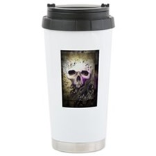 cycleoflife-blk-bckgrd Travel Mug