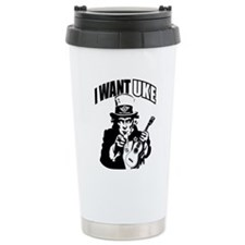 I WANT UKE 2 Travel Coffee Mug