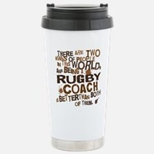 rugbycoachbrown Stainless Steel Travel Mug