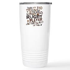 rugbyplayerbrown Travel Coffee Mug