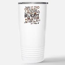 rugbyplayerbrown Travel Mug