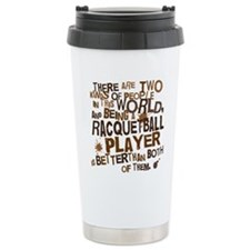 raquetballplayerbrown Travel Mug