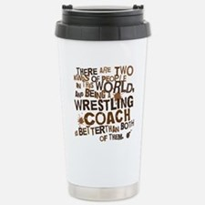 wrestlingcoachbrown Stainless Steel Travel Mug