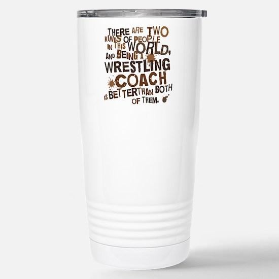 wrestlingcoachbrown Stainless Steel Travel Mug