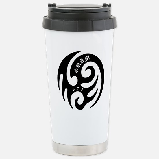 tribal Stainless Steel Travel Mug
