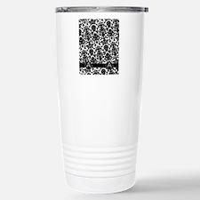 a_flip_flops_monogram Stainless Steel Travel Mug