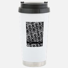 p_flip_flops_monogram_0 Travel Mug