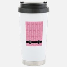 S_flip_flops_monogram_0 Travel Mug