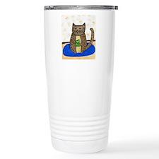 Fat Cat Travel Coffee Mug