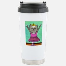 Dancing Cat Travel Mug