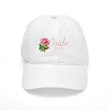 Rose Bride to Be Baseball Cap