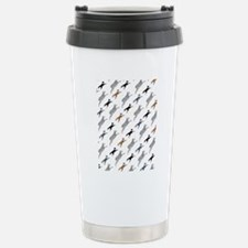 SheltieSheep45AngleIPad Stainless Steel Travel Mug