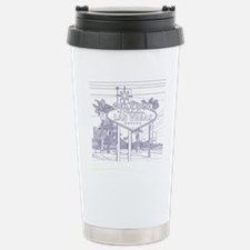 LasVegas_10x10_WelcomeS Stainless Steel Travel Mug