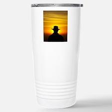 Man in Akubra at Sunris Travel Mug