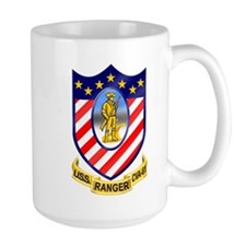 Uss Ranger Cva-61 Large Mugs