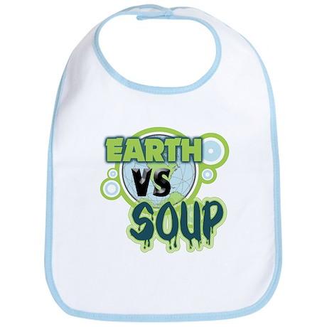 Earth VS Soup Bib