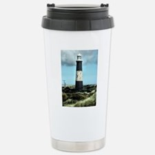 Spurn Point Lighthouse Stainless Steel Travel Mug