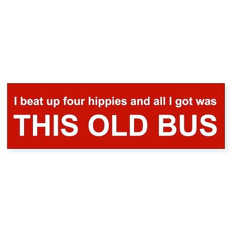 VW Bus Bumper Sticker
