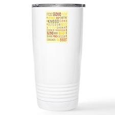 Lets Get Baking! Travel Mug