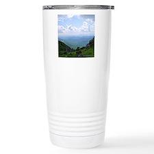 grdbluthrow16 Travel Coffee Mug