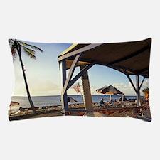 Croix, Rainbow Beach. Sunset Grille, c Pillow Case