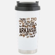 arkansas_brown Stainless Steel Travel Mug