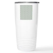 PineTreeDamask10x10 Travel Mug