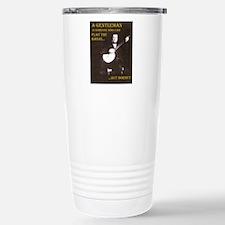 A Gentleman Stainless Steel Travel Mug