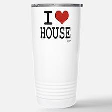 I LOVE HOUSE Travel Mug