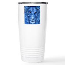 Winter Lion Travel Coffee Mug