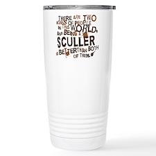 sculler_brown Travel Mug