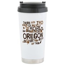 oregon_brown Travel Mug
