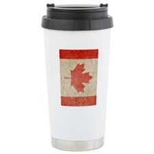 Canada Faded iPad S Travel Mug