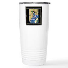 1 JAN LadyInBlue- BLK  Travel Coffee Mug