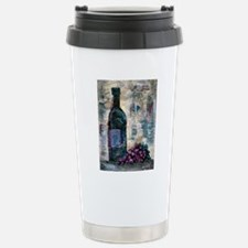 Wine Still Life Stainless Steel Travel Mug