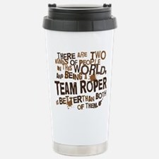 team_roper_brown Travel Mug