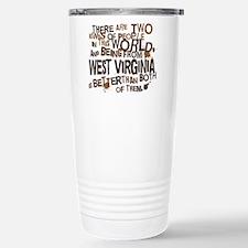 west_virginia_brown Travel Mug