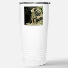 wolf pup mp Travel Mug