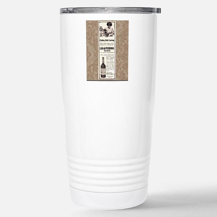 Lea and Perrins Sauce Travel Mug