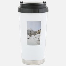 Canada, Alberta, Lake L Travel Mug